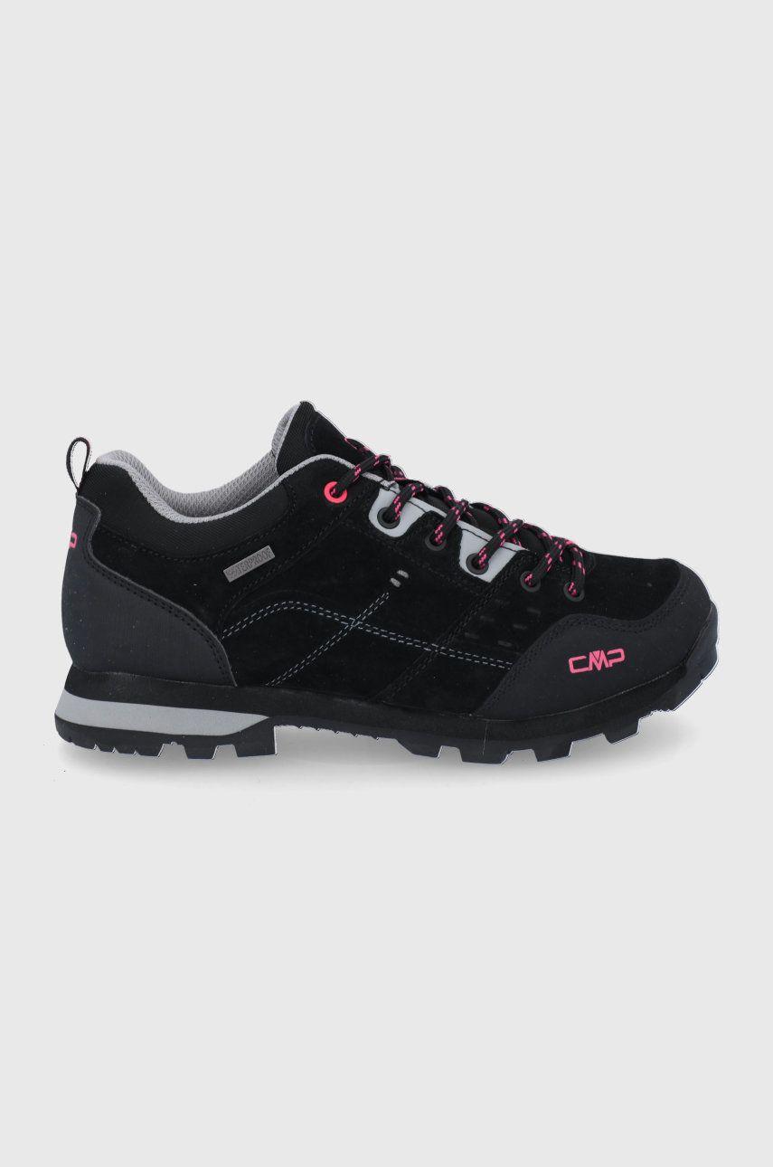 CMP - Pantofi de piele intoarsa Alcore Low