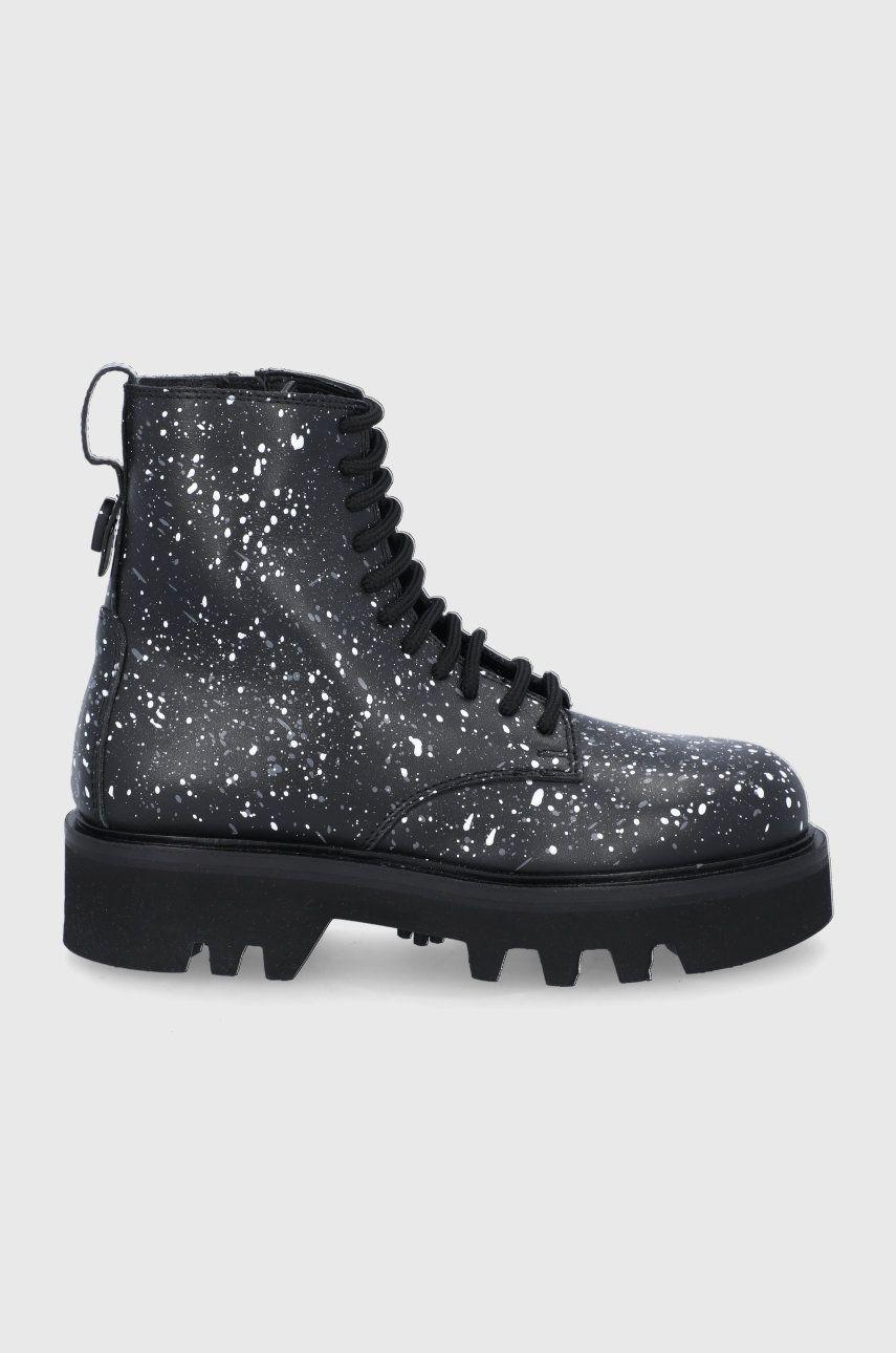 Furla - Bocanci de piele Rita Army Boot
