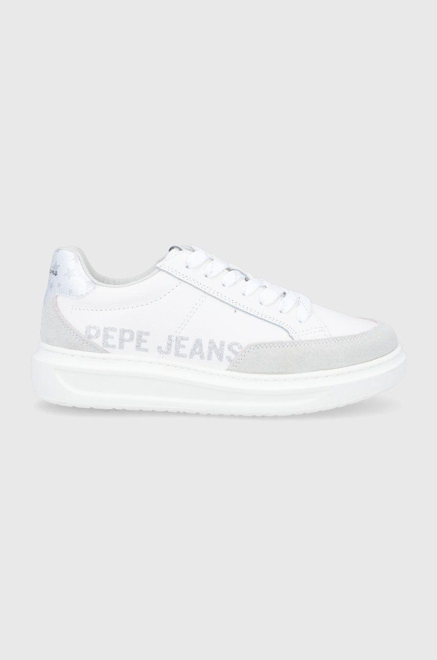 Pepe Jeans - Ghete de piele Abbey Willy