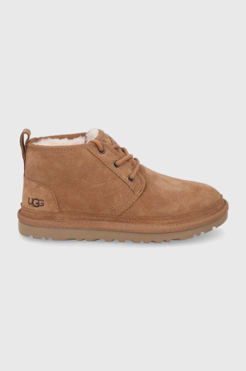 UGG - Pantofi de piele intoarsa Neumel