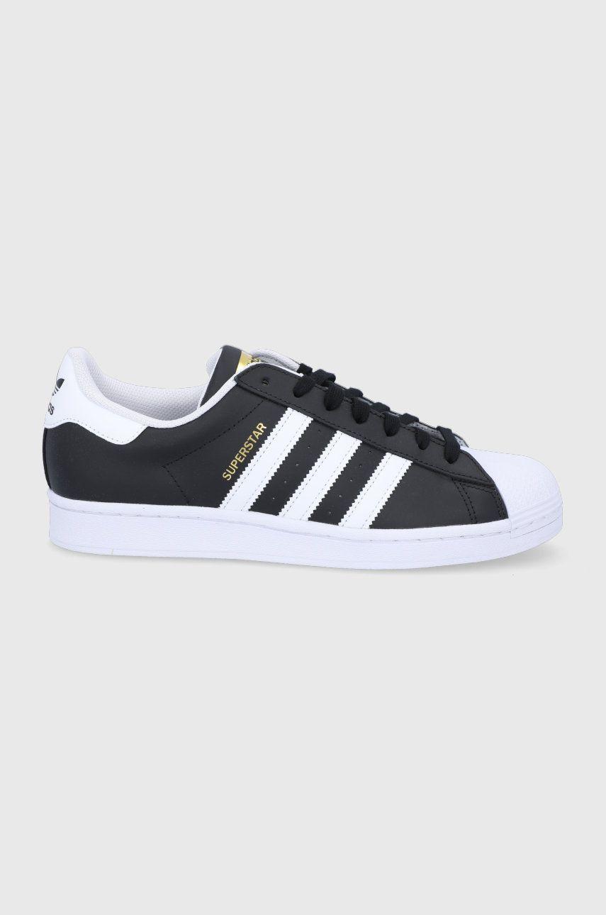 adidas Originals - Kožená obuv Superstar