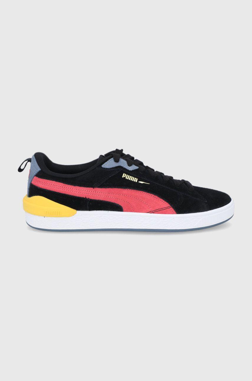 Puma - Pantofi de piele intoarsa Suede Bloc