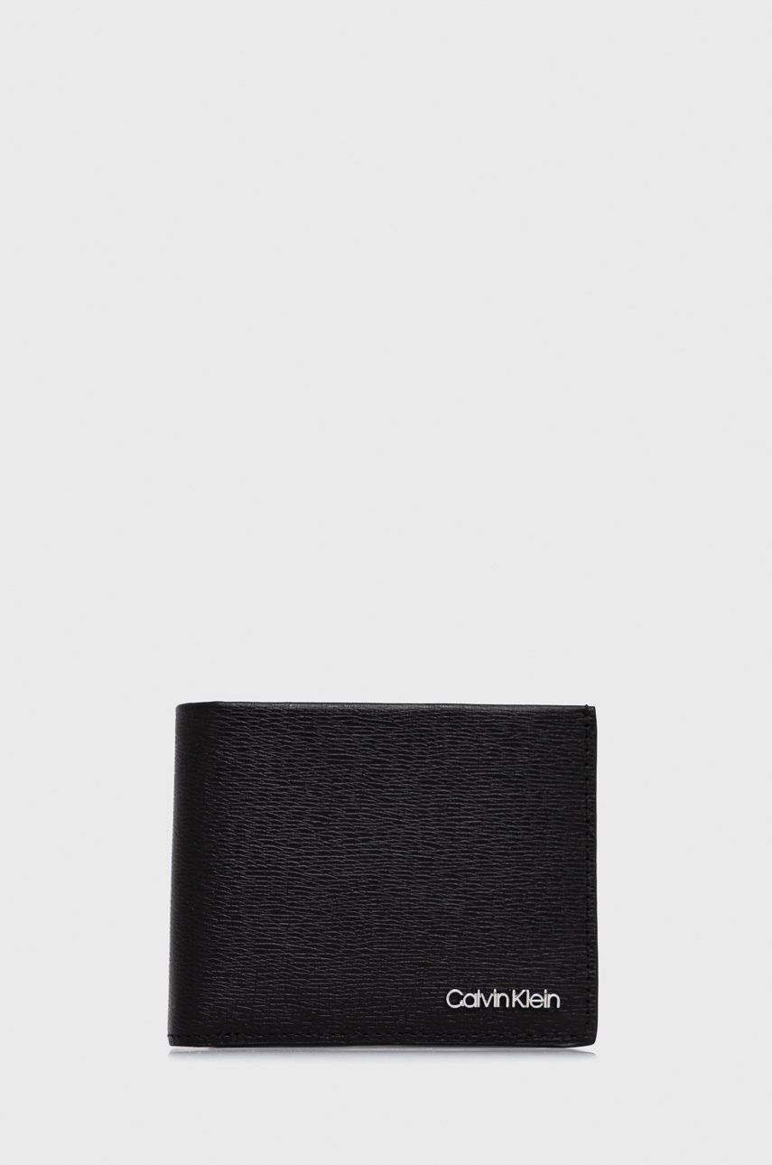Calvin Klein - Kožená peněženka + klíčenka