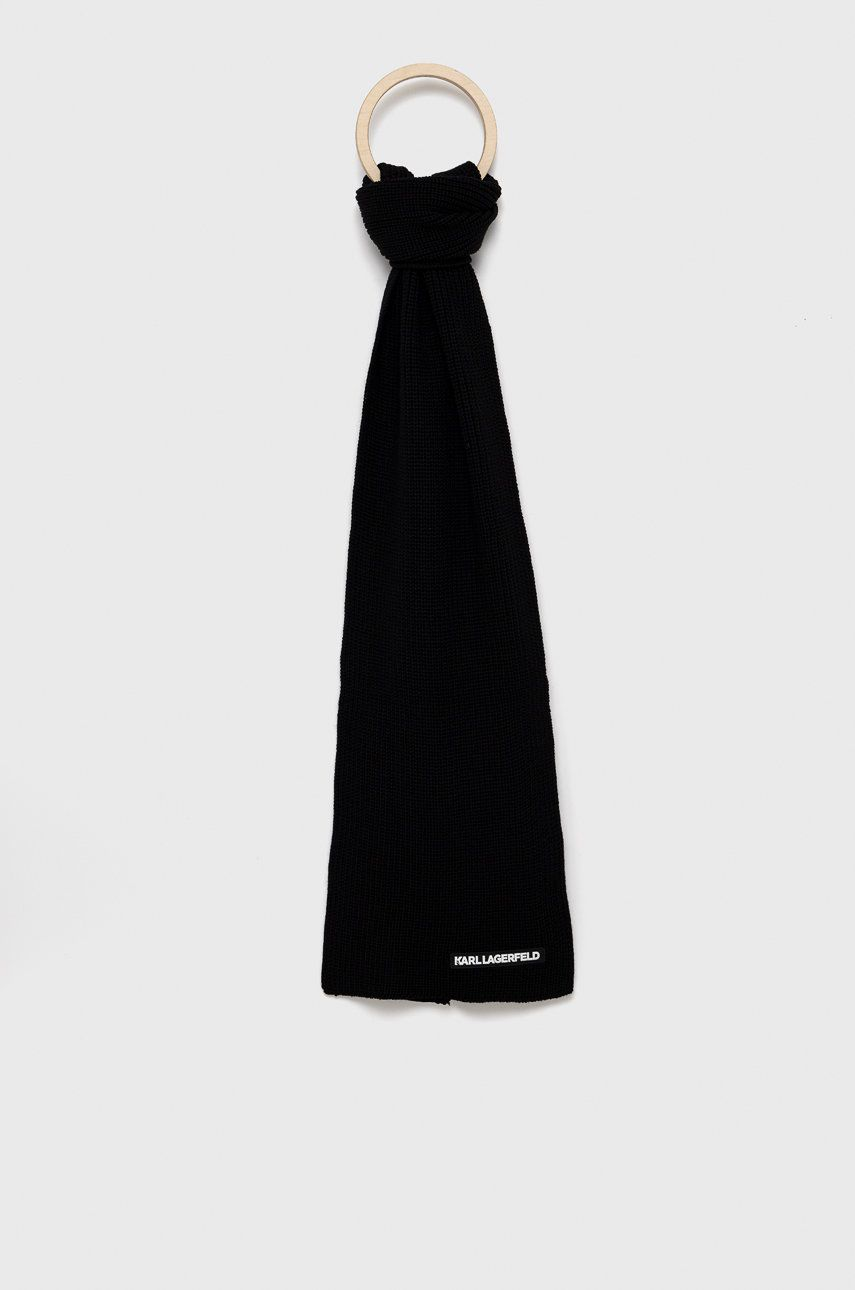 Karl Lagerfeld - Esarfa de lana