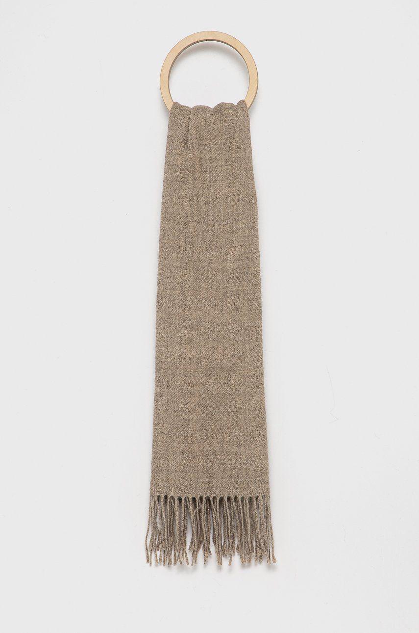 United Colors of Benetton - Esarfa din amestec de lana