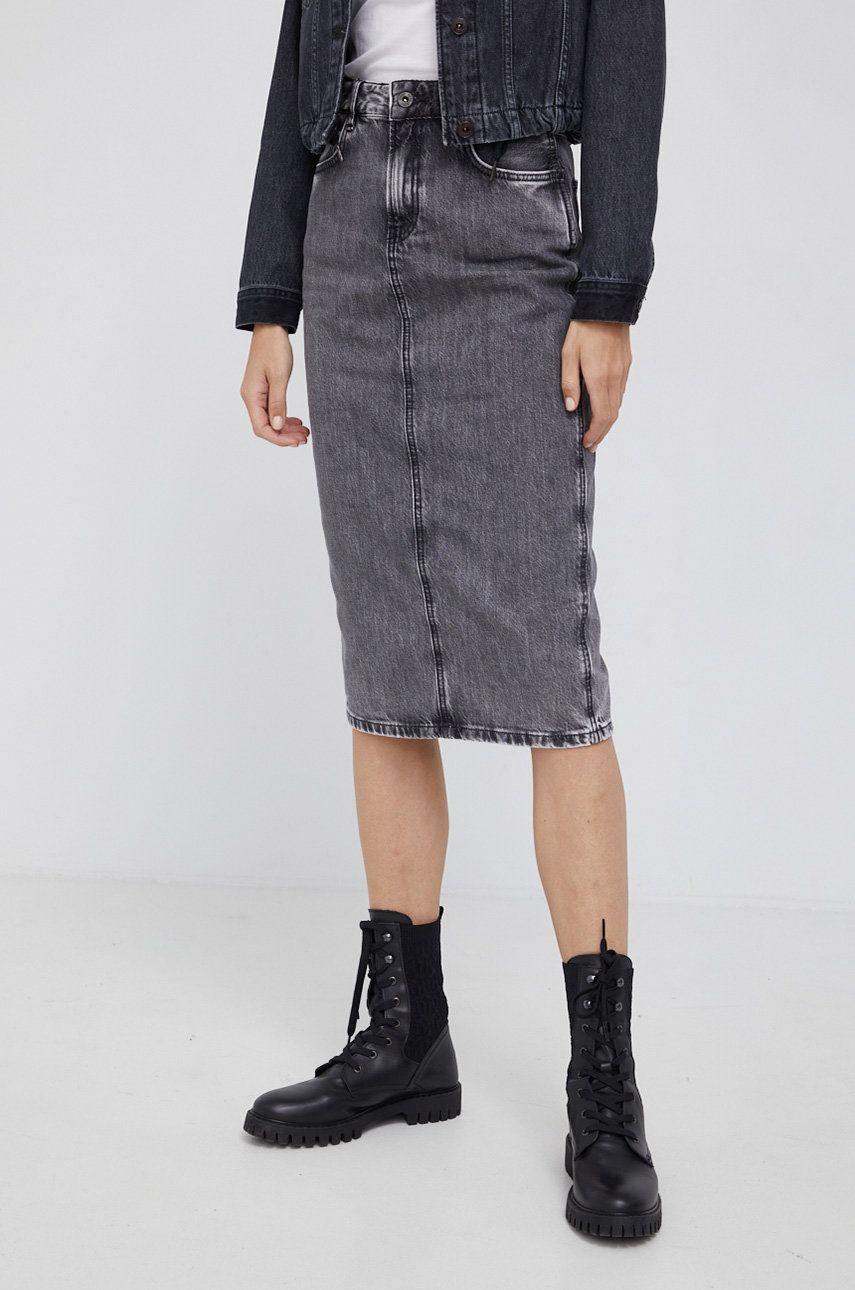 Pepe Jeans - Fusta jeans Piper