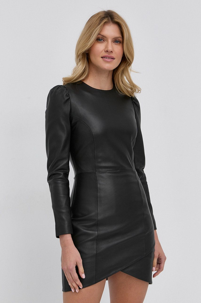 Young Poets Society - Rochie de piele Skarlet