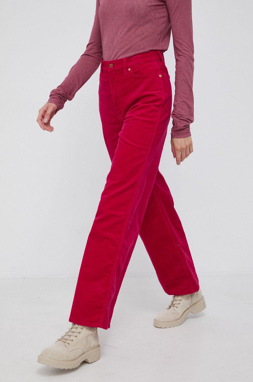 Wrangler - Pantaloni de catifea cord