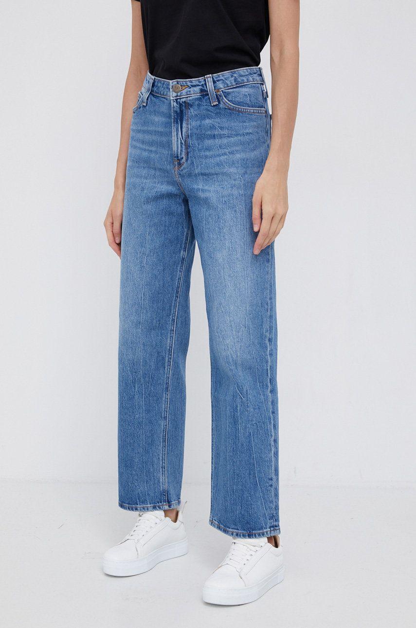 Lee - Jeansi Wide Leg Long
