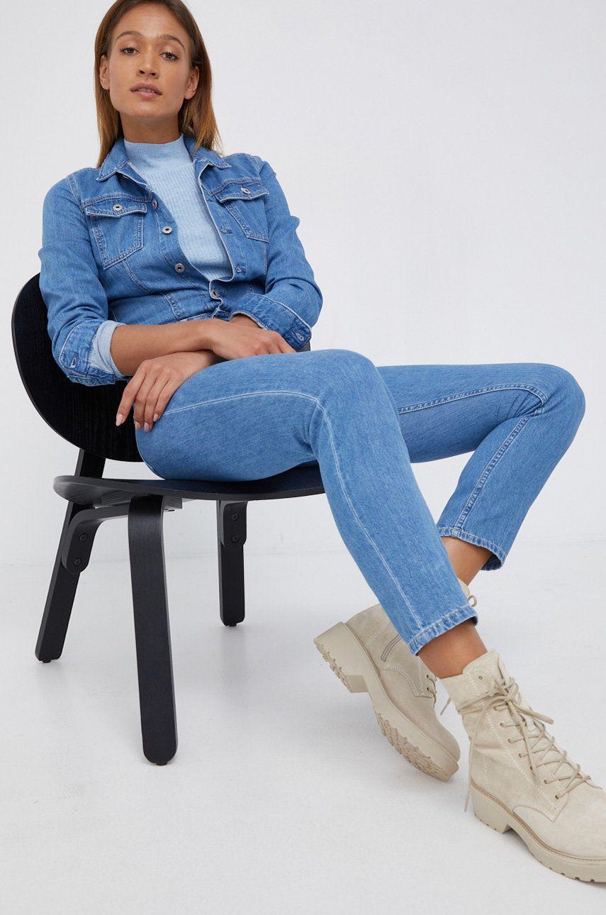 Pepe Jeans - Salopeta jeans Callie