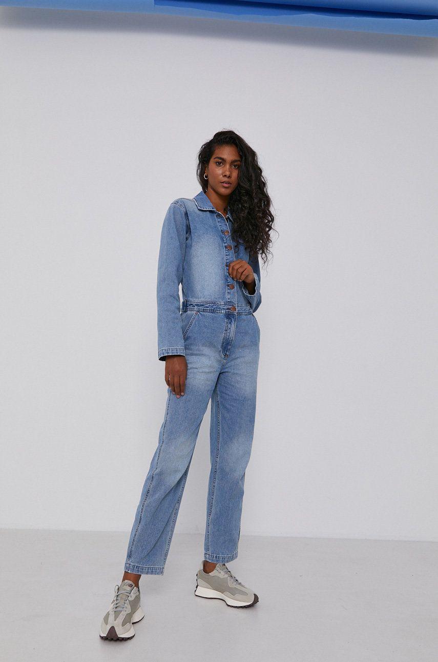 Billabong - Salopeta jeans x Wrangler