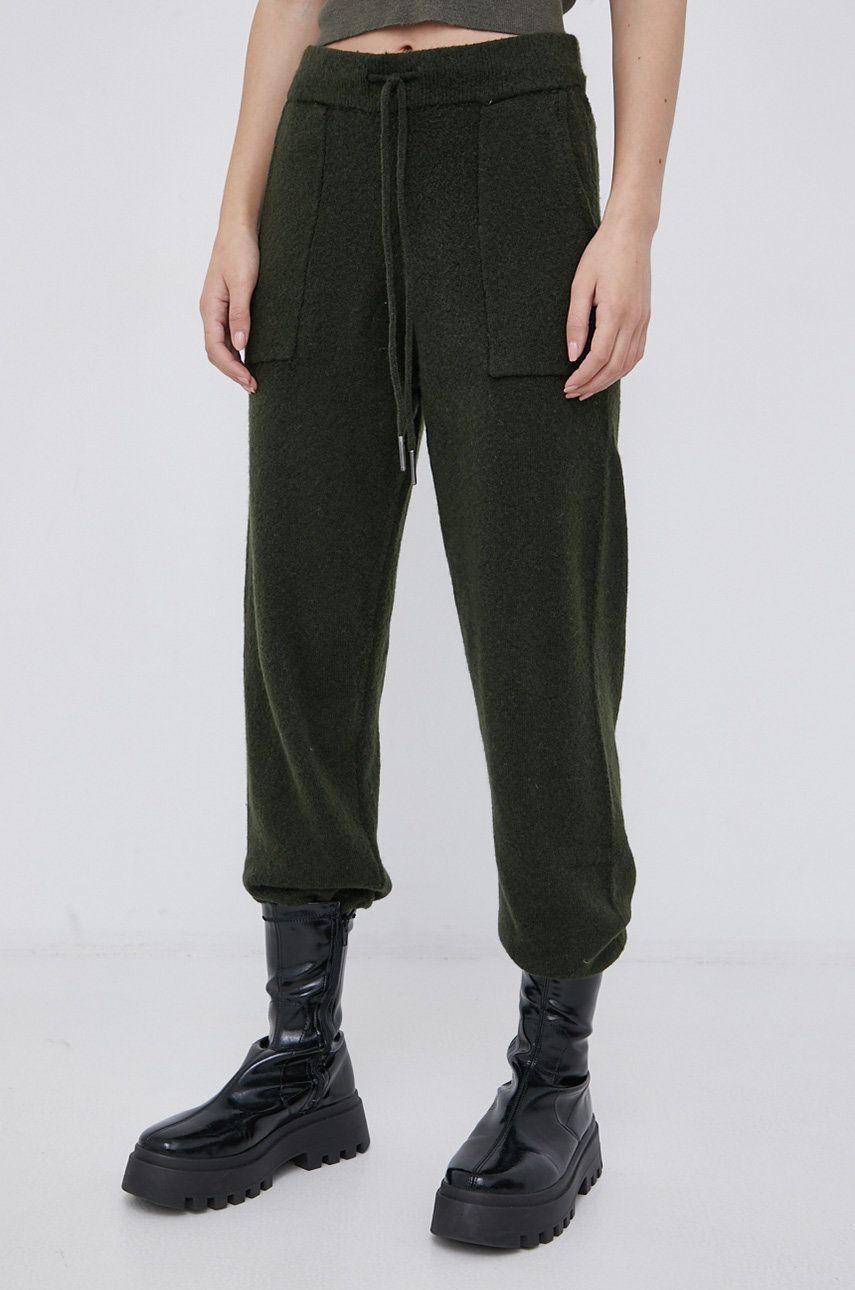 Noisy May - Pantaloni din lana