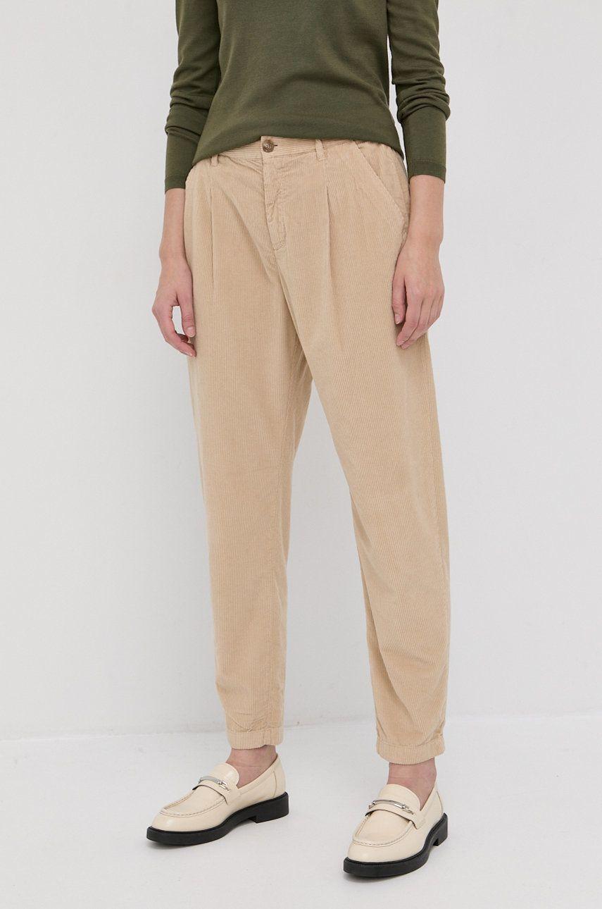 Boss - Pantaloni de catifea cord
