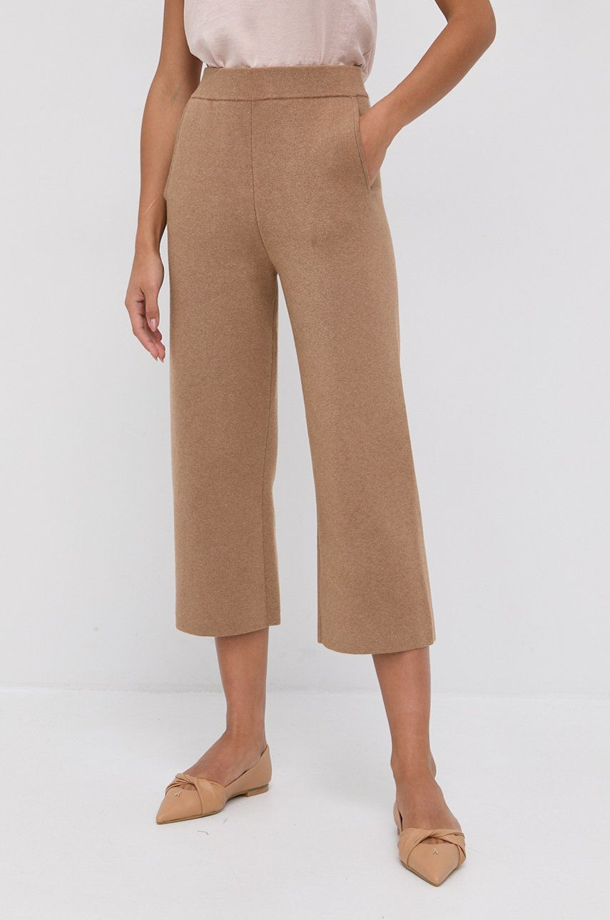 Boss - Pantaloni din lana