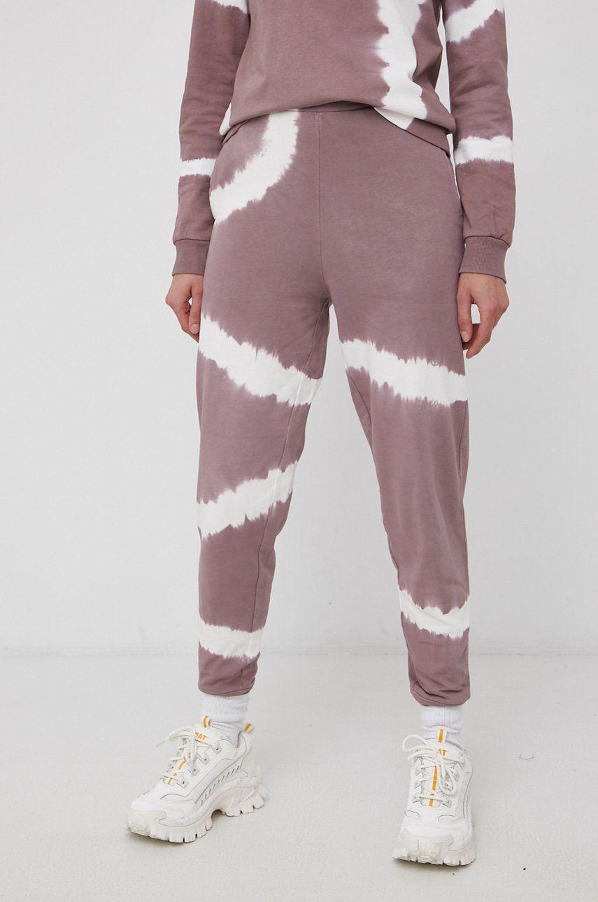 JDY - Pantaloni de bumbac