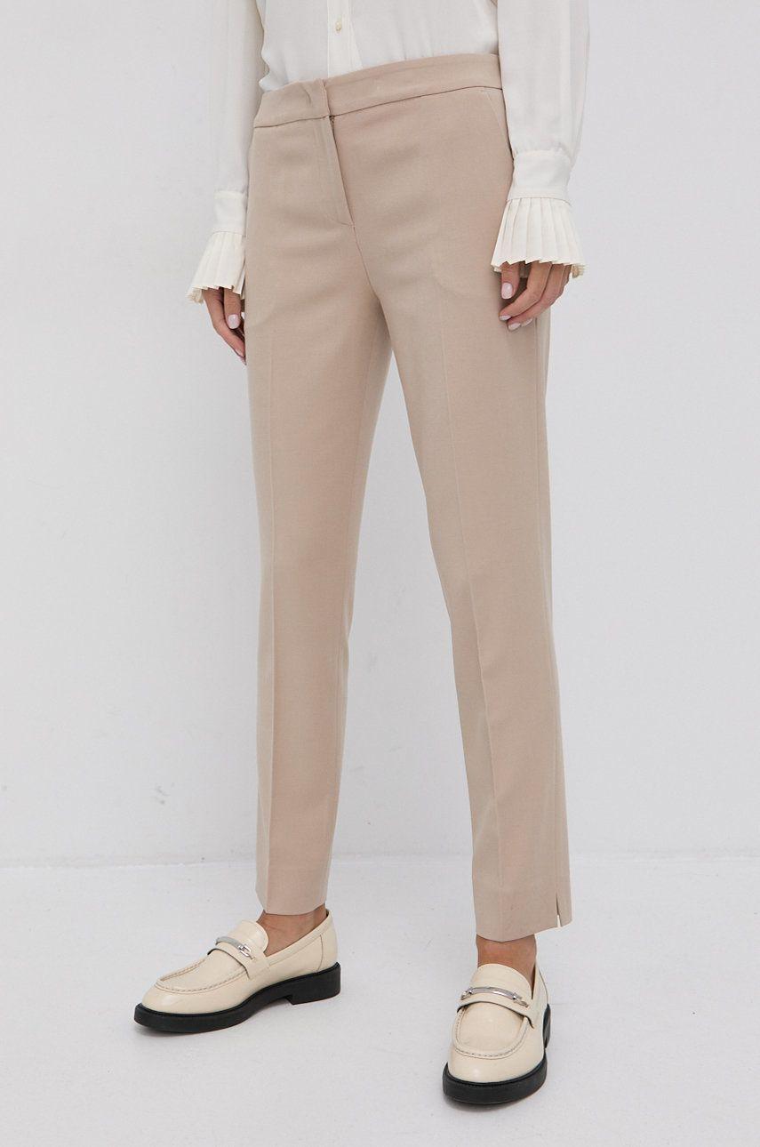 Trussardi - Pantaloni din lana