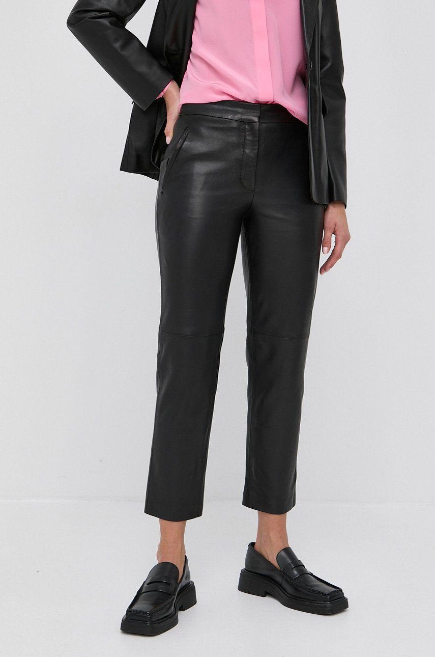 Karl Lagerfeld - Pantaloni de piele