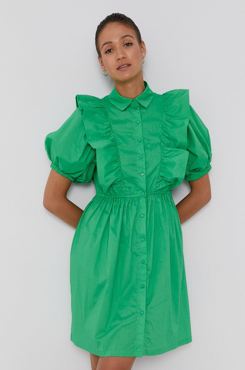 Pieces - Rochie din bumbac