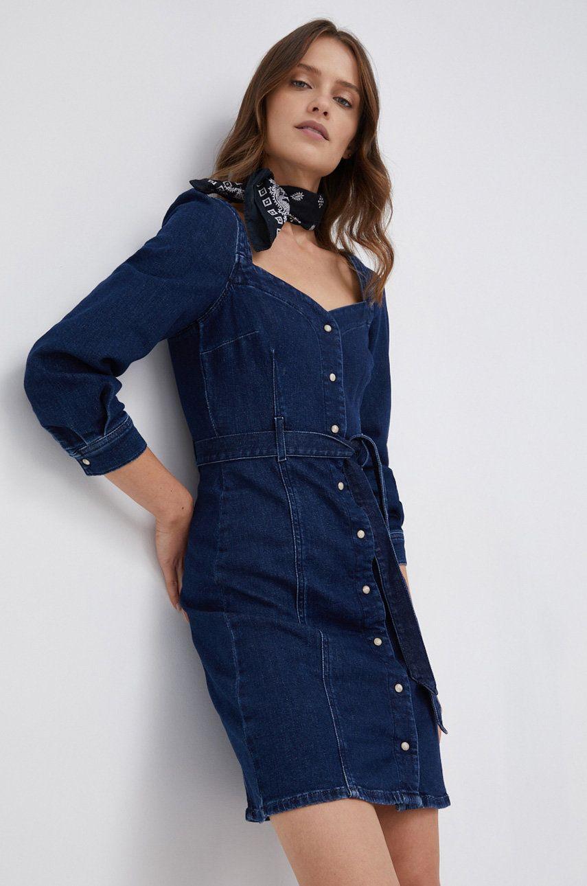 Pepe Jeans - Rochie jeans Jenna
