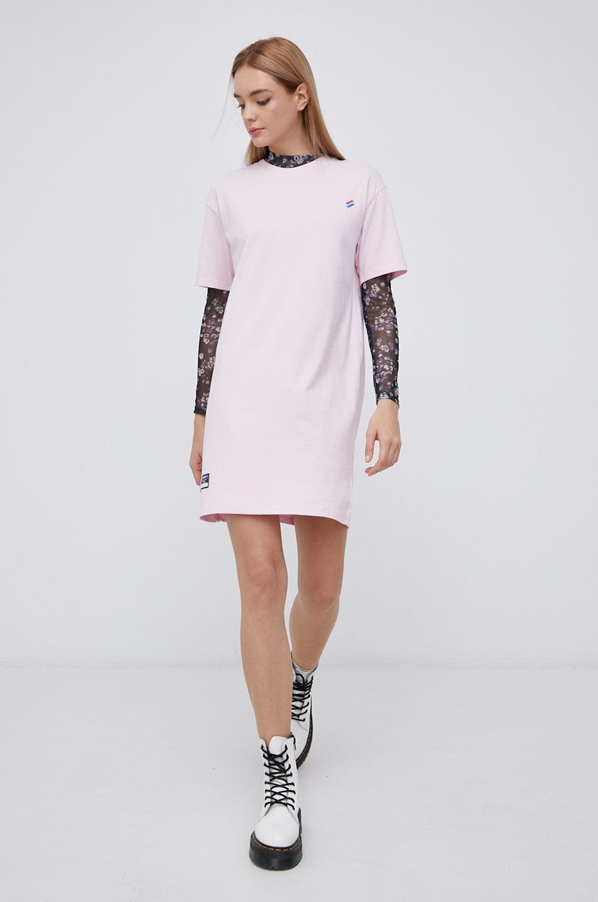 Superdry - Rochie din bumbac