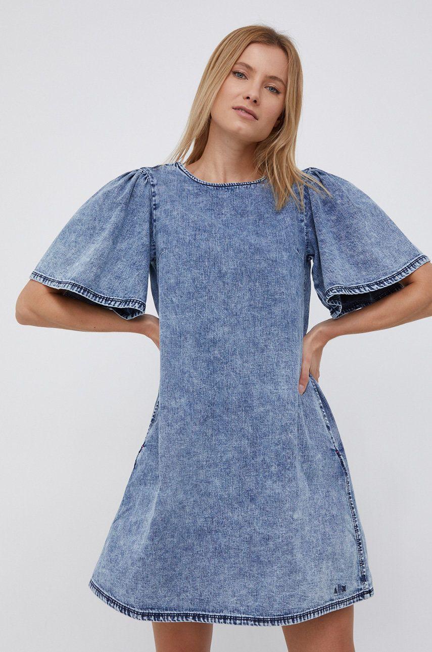 Armani Exchange - Rochie jeans