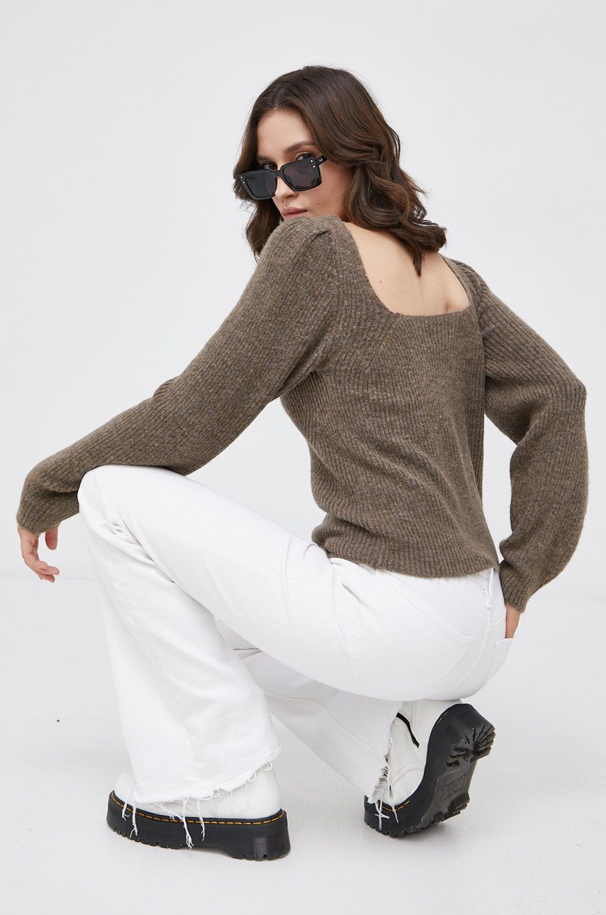 Only - Pulover din amestec de lana