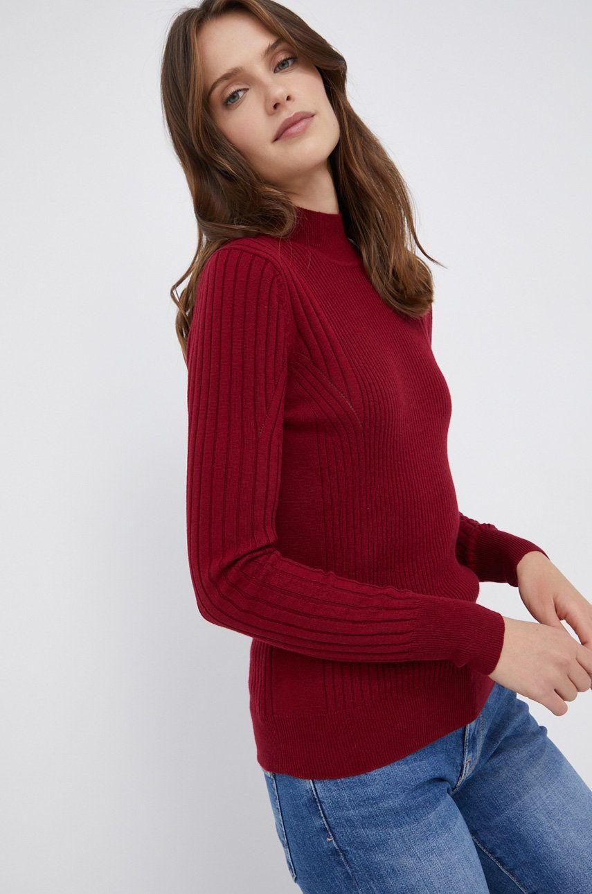 Pepe Jeans - Pulover din amestec de lana Amalia