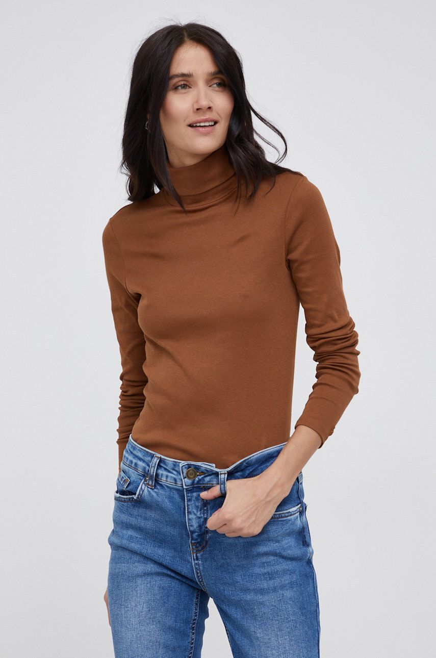 United Colors of Benetton - Longsleeve din bumbac