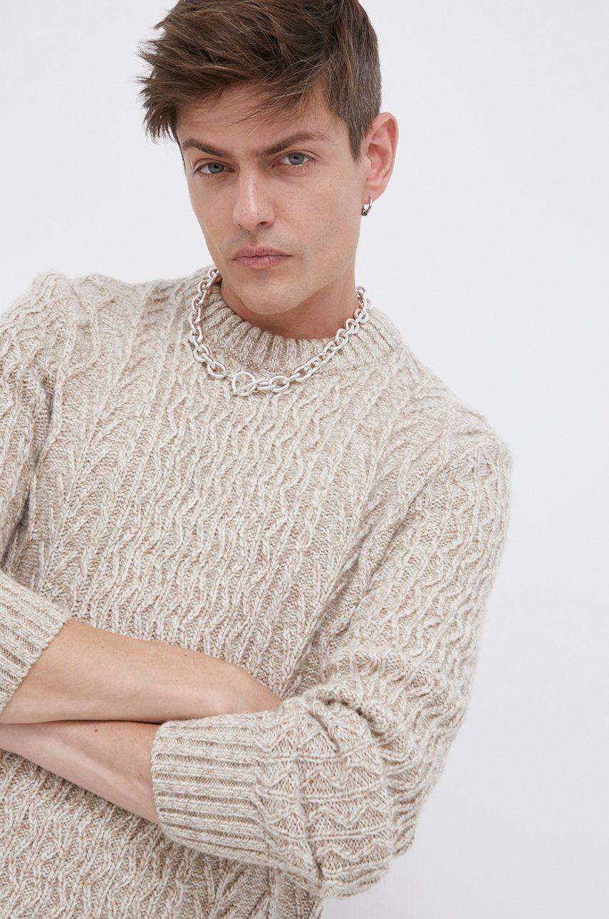 Superdry - Pulover din amestec de lana image0