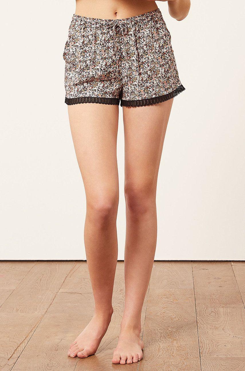 Etam - Pantaloni scurti de pijama Flowers