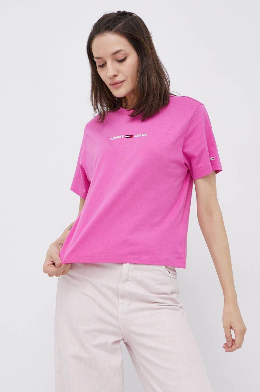 Tommy Jeans - Tricou din bumbac