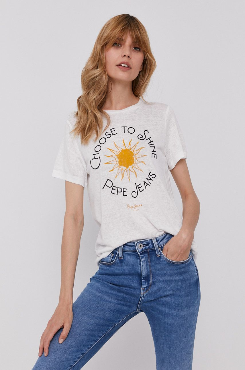 Pepe Jeans - Tricou Astrid