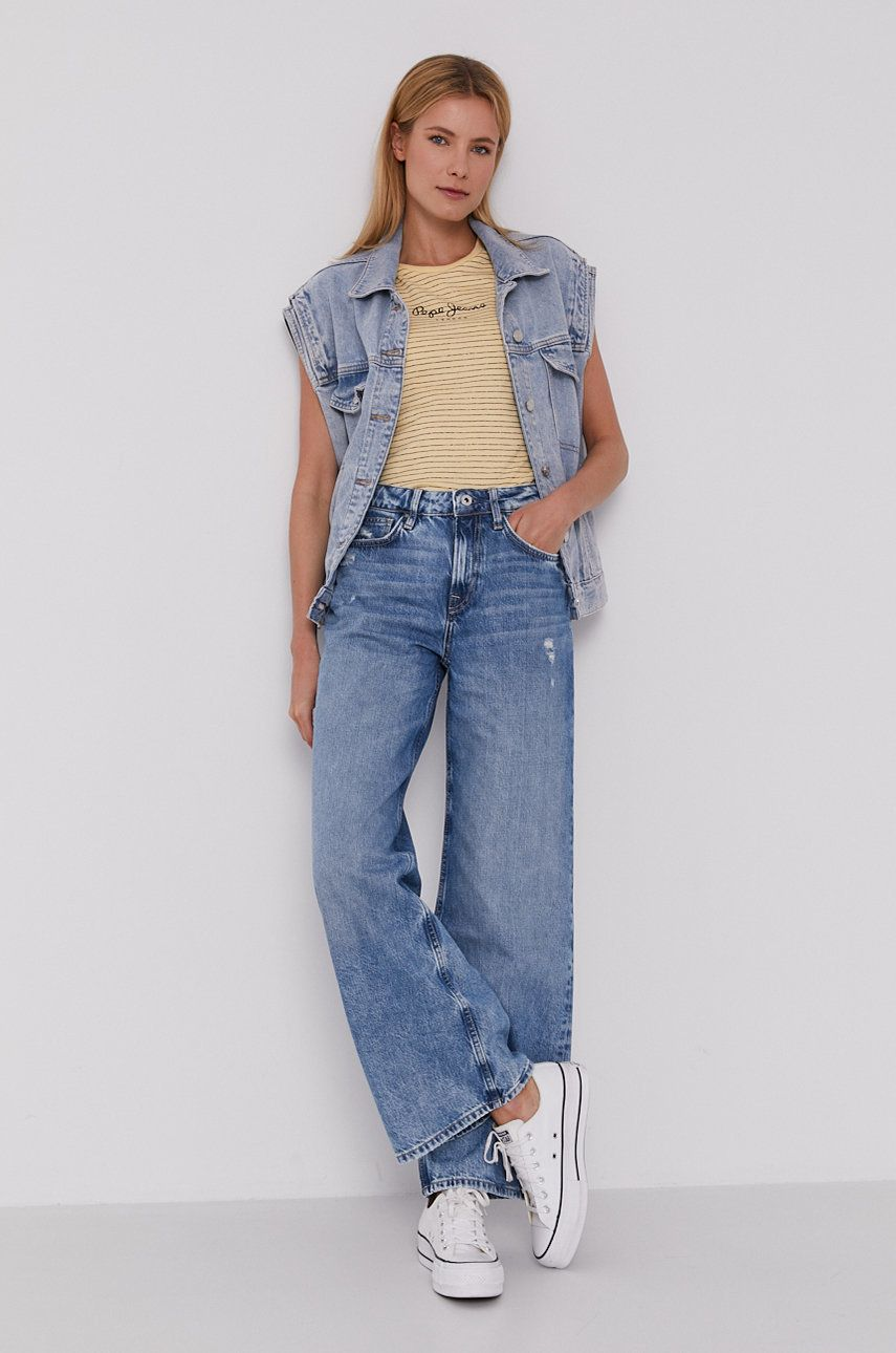Pepe Jeans - Tricou Mahsa