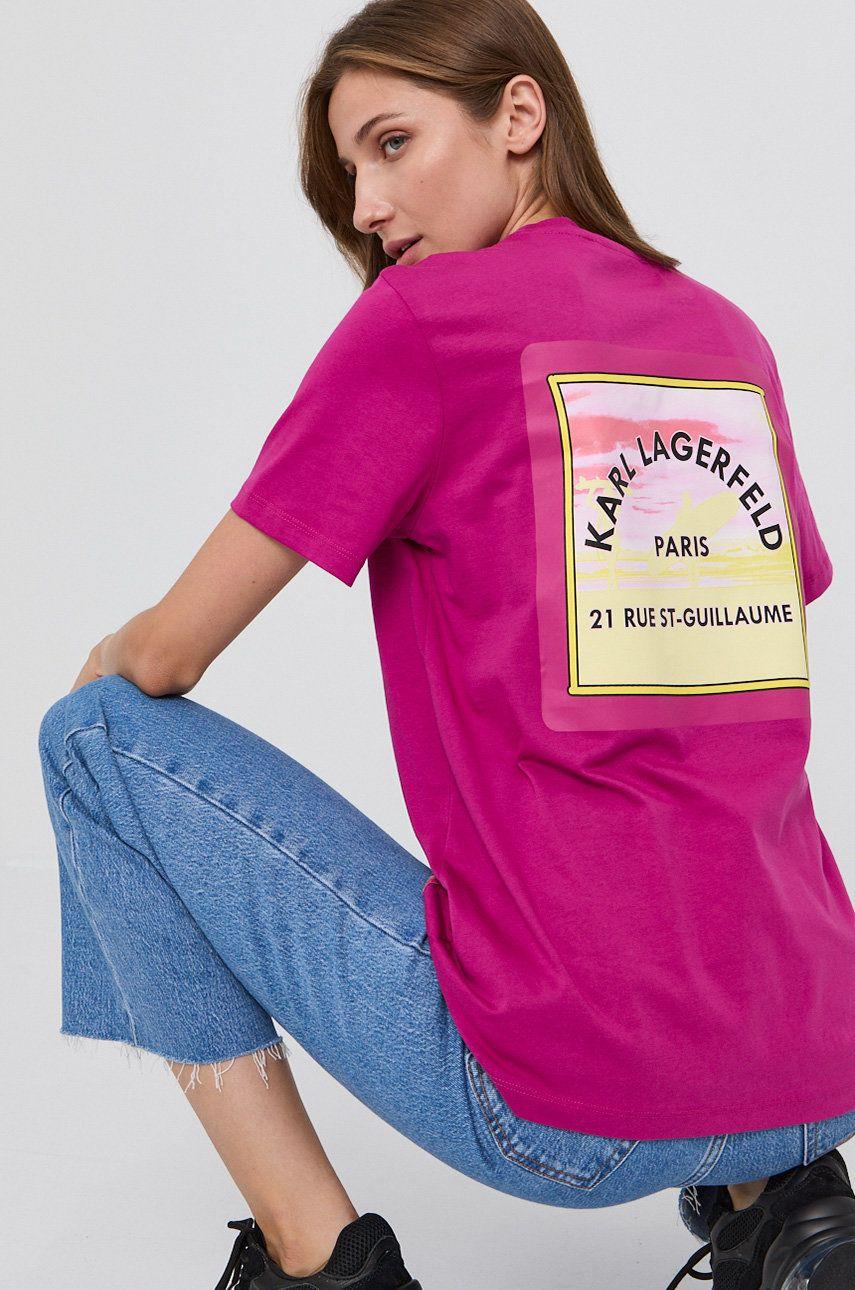 Karl Lagerfeld - Tricou din bumbac