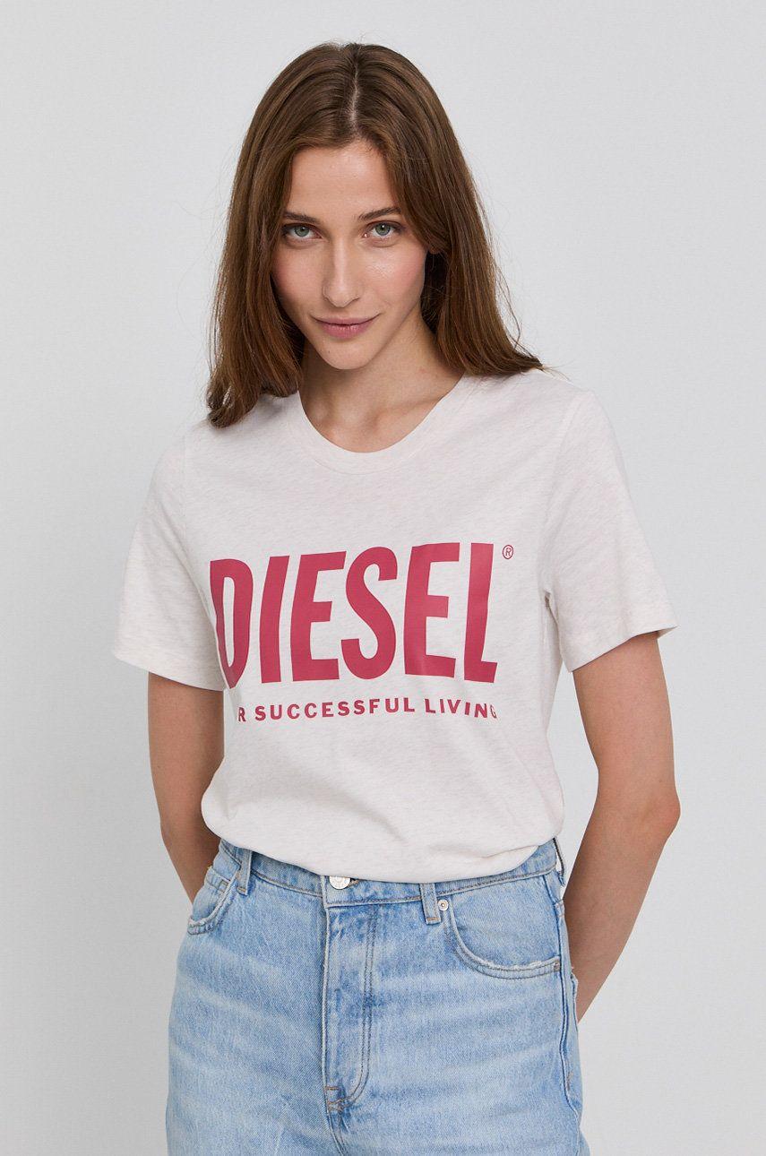 Diesel - Tricou din bumbac