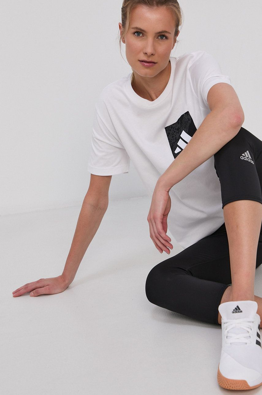 adidas Performance - Tricou din bumbac