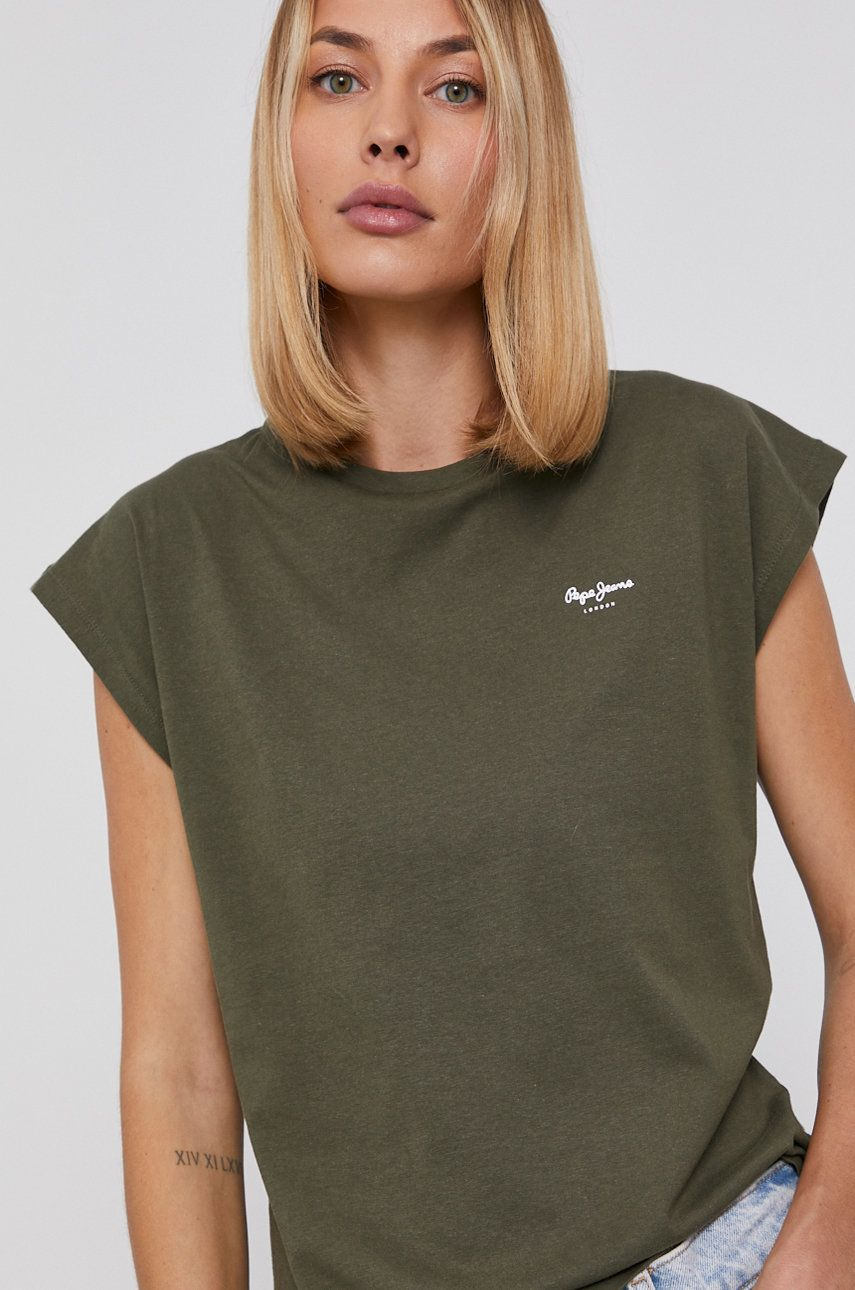 Pepe Jeans - Tricou din bumbac Bloom