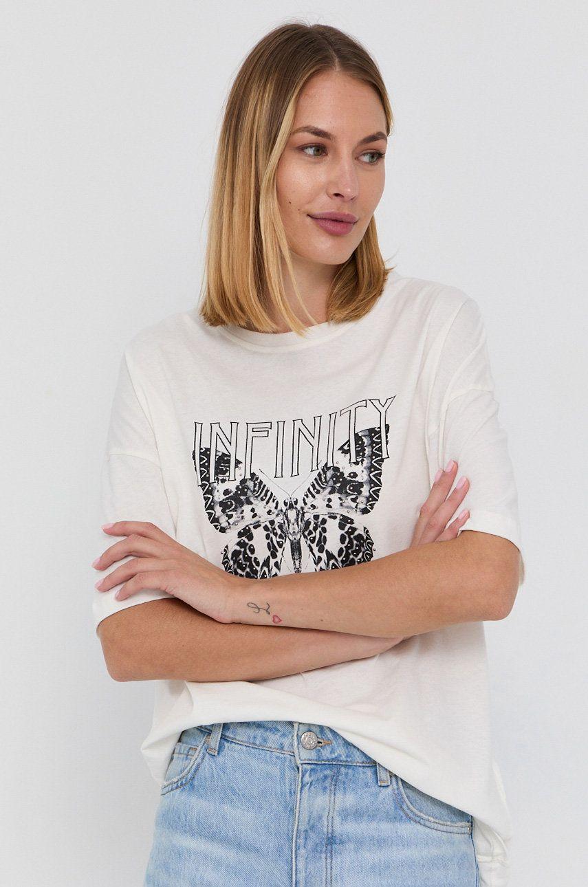 Pepe Jeans - Tricou din bumbac Dharma