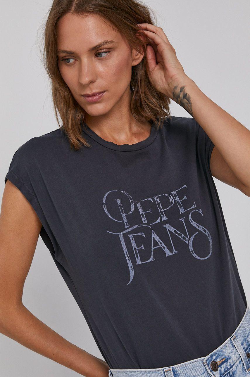 Pepe Jeans - Tricou din bumbac Klose