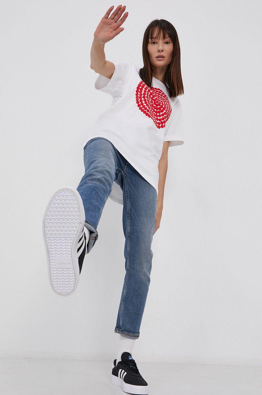 adidas Performance - Tricou din bumbac x Marimekko