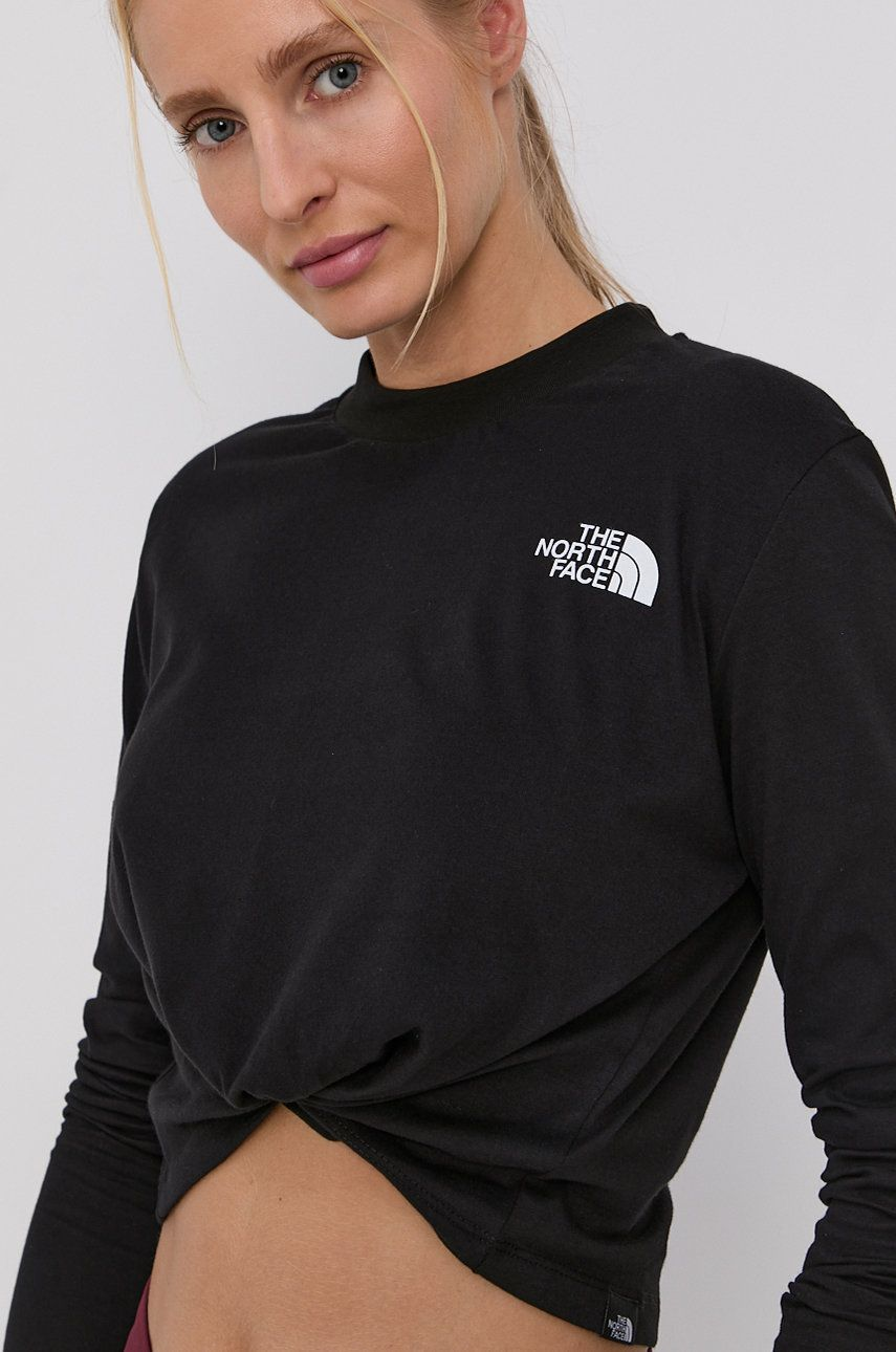 The North Face - Longsleeve din bumbac