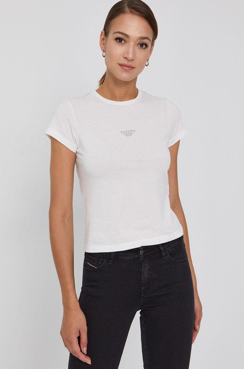 AllSaints - Tricou din bumbac