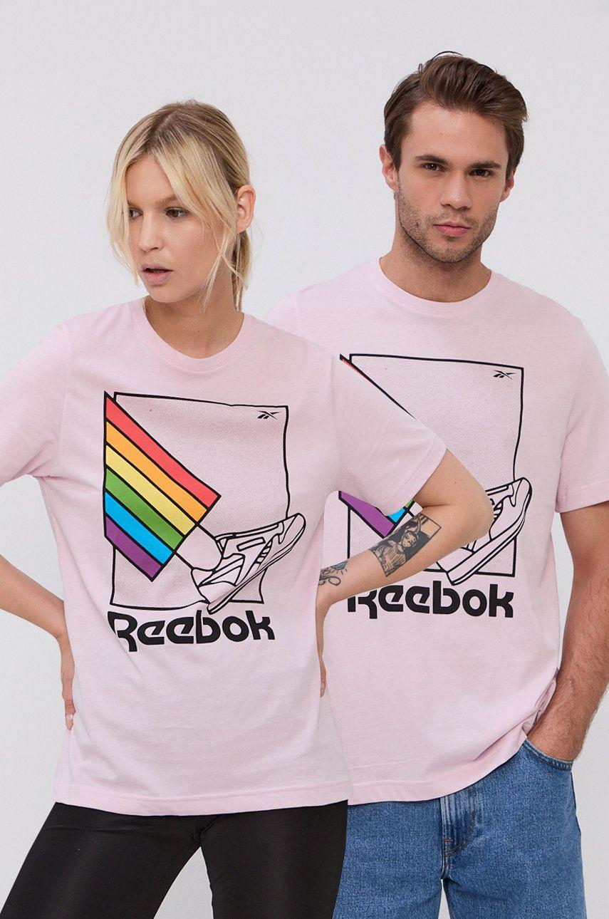 Reebok - Tricou din bumbac