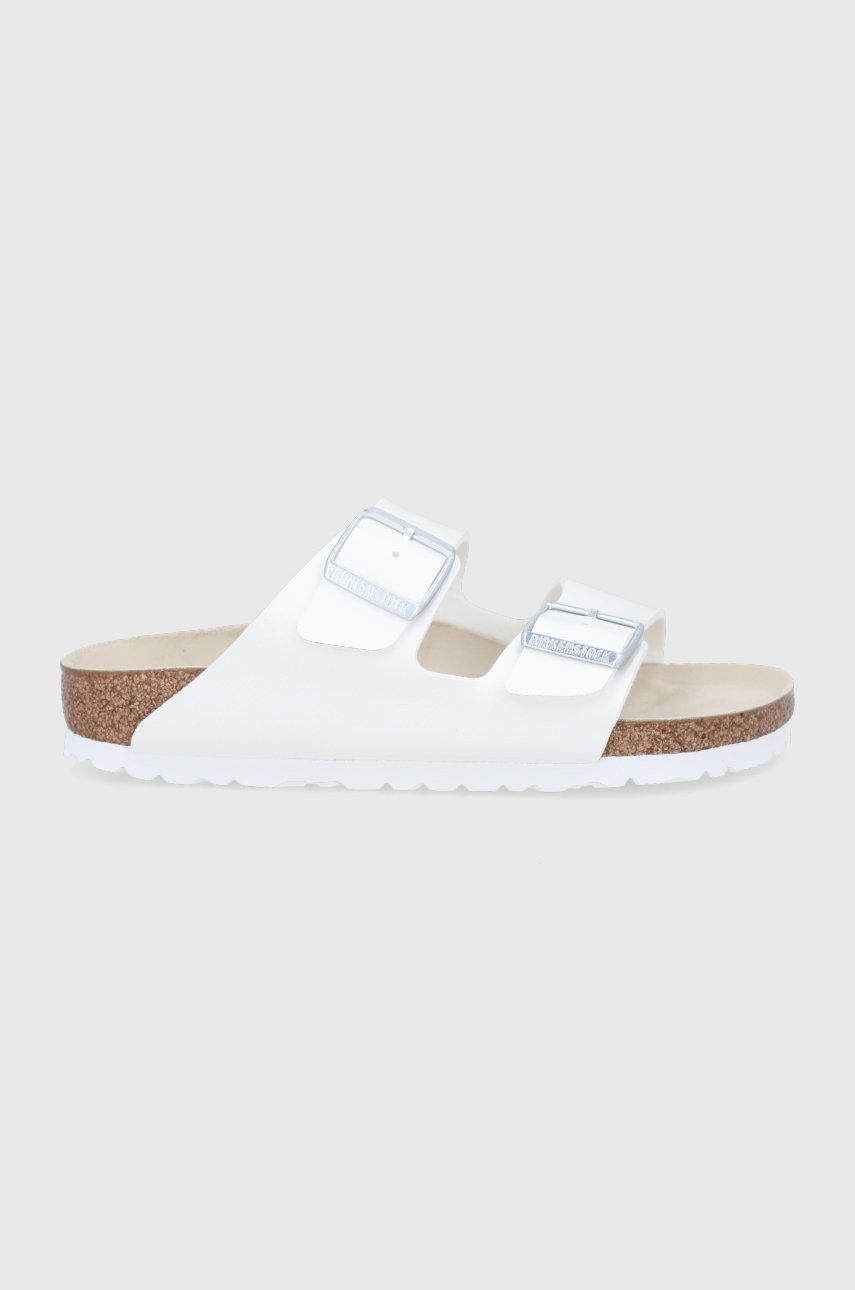 Birkenstock - Papuci Arizona White imagine