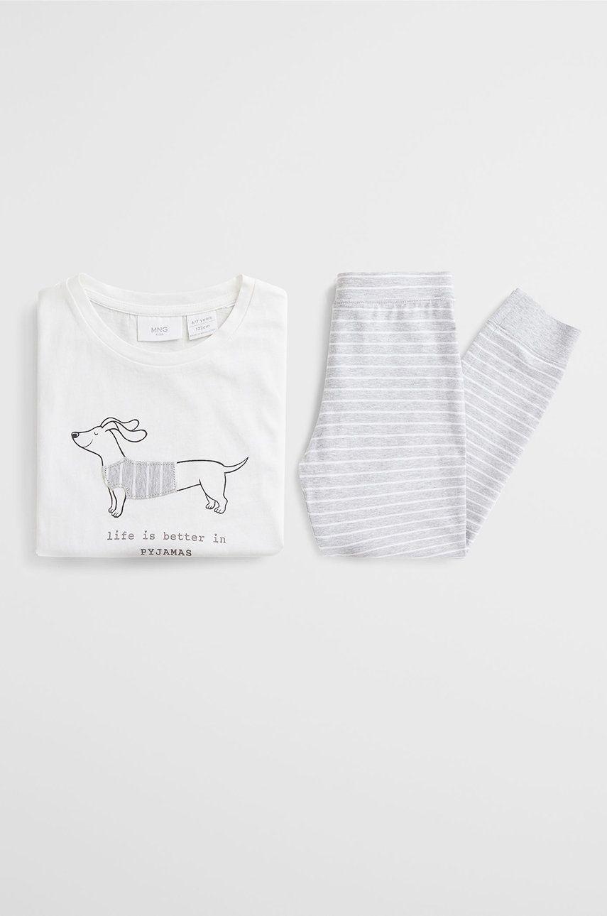 Mango Kids - Pijama copii Perro 110-164 cm