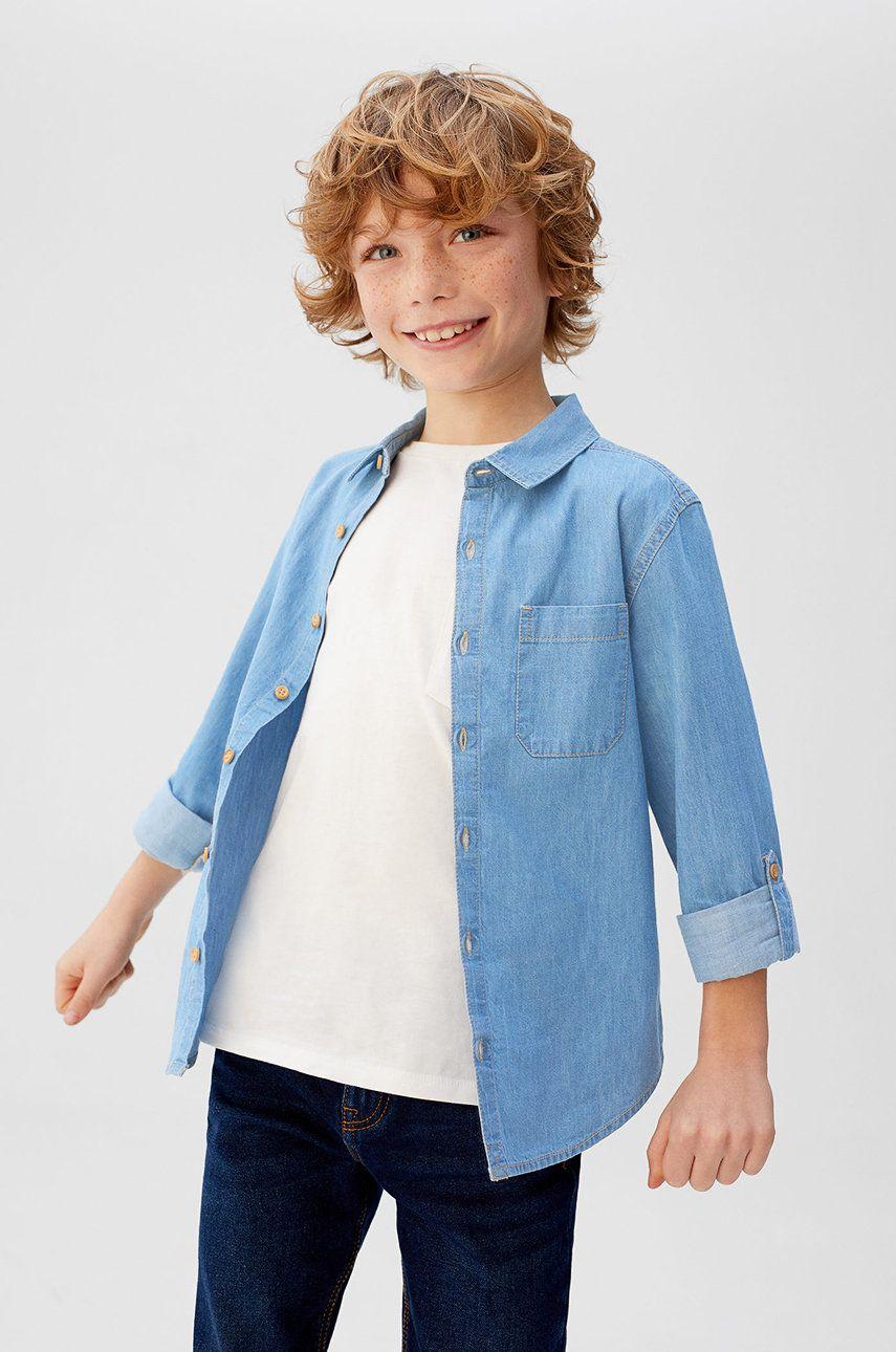 Mango Kids - Camasa copii Daniel 110-164 cm
