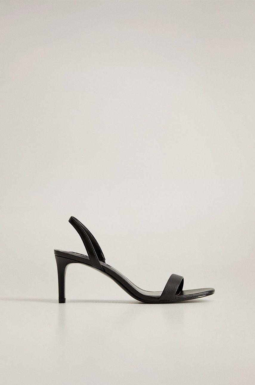 Mango - Sandale de piele Cora