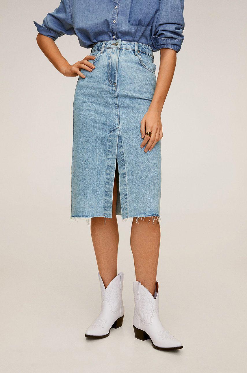 Mango - Fusta jeans Edited