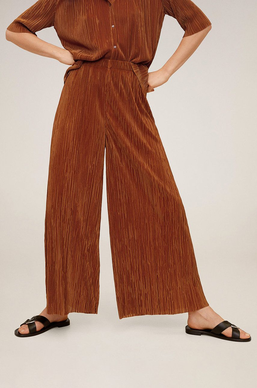 Mango - Pantaloni Deltapan