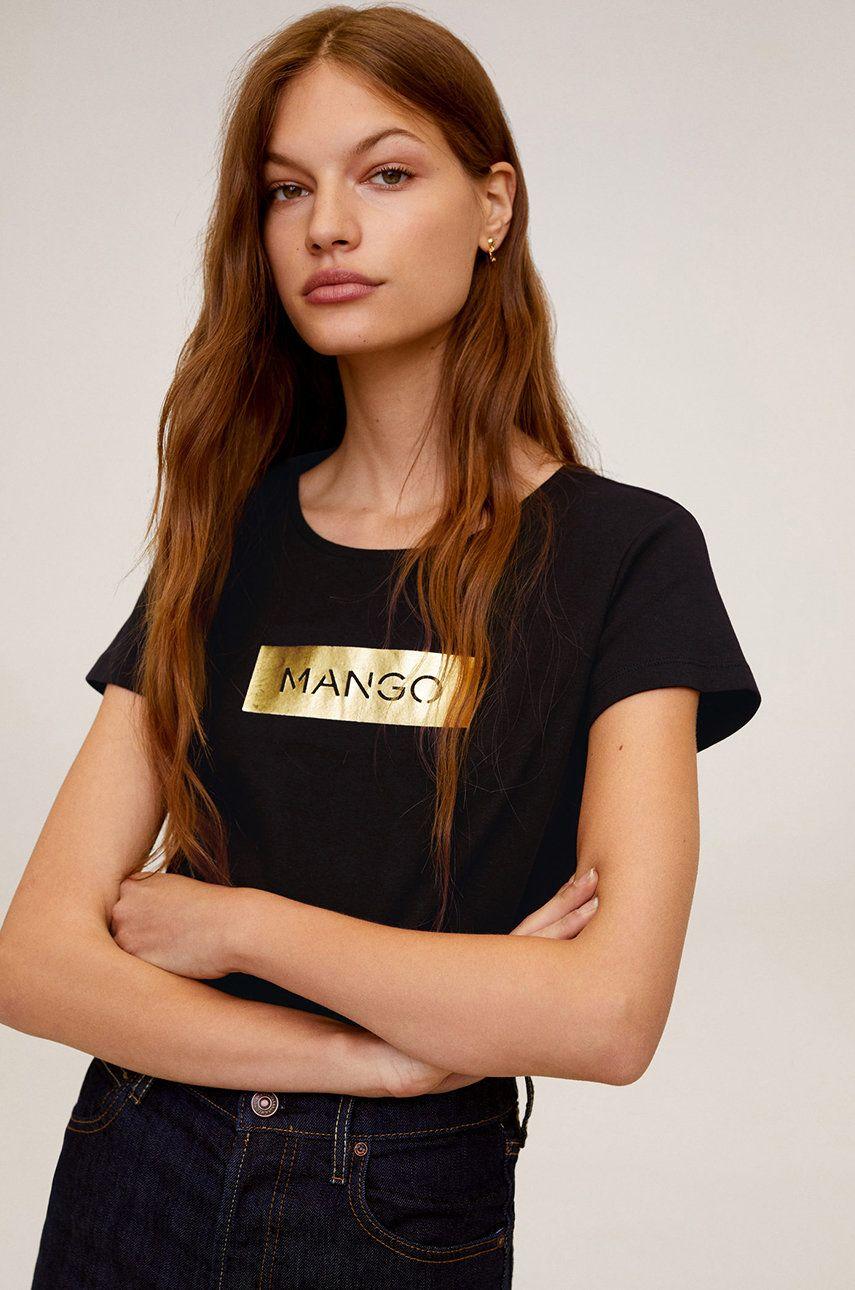 Mango - Tricou Mnglogo